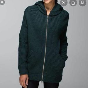 LULULEMON Once A Day Sweat-er Jacket Merino Wool